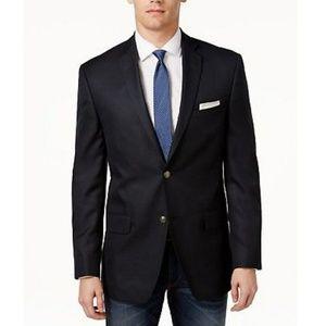 alfani slim fit black blazer